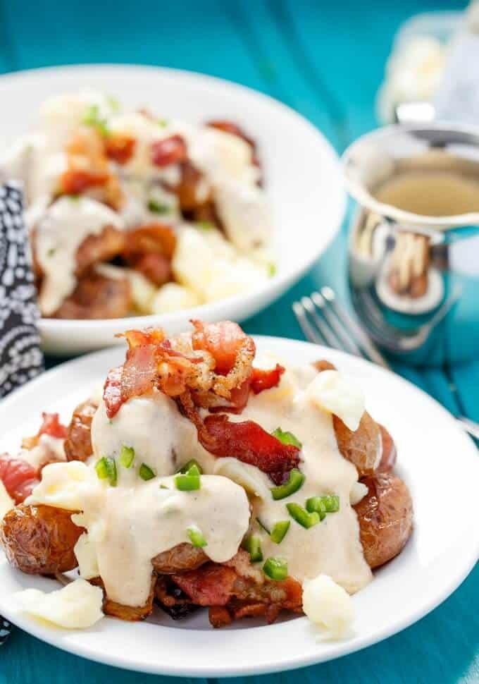 Jalapeno Popper Potato Poutine