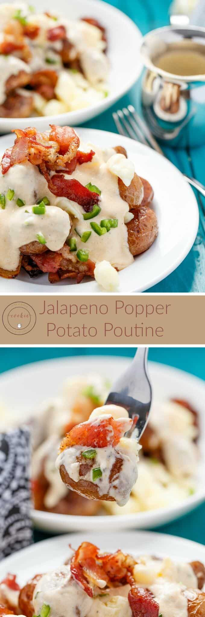 Jalapeno Popper Potato Poutine