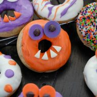 Halloween Monster Doughnuts