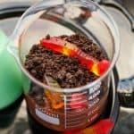 Homemade Worms and Dirt Dessert