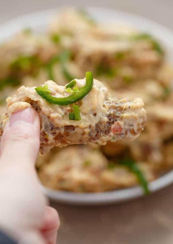 Jalapeno Popper Chicken Wings