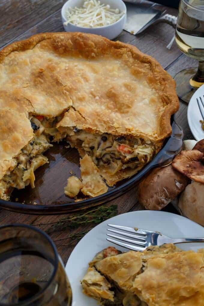 Roasted Mushroom Pot Pie