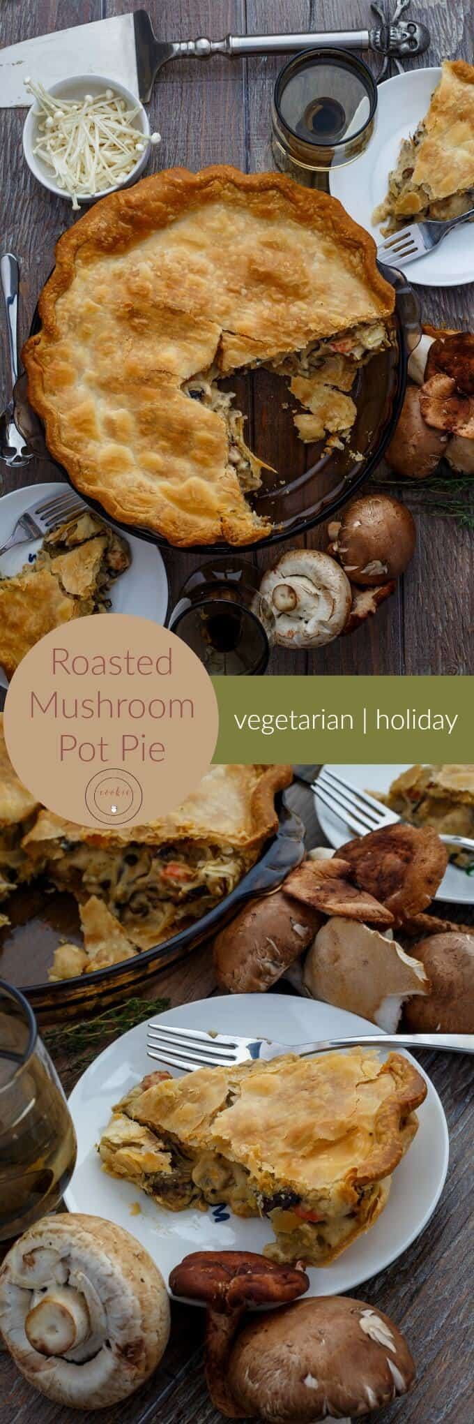 Roasted Mushroom Pot Pie