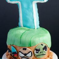 Teen Titans Go Cake (Cookie Geek #4)