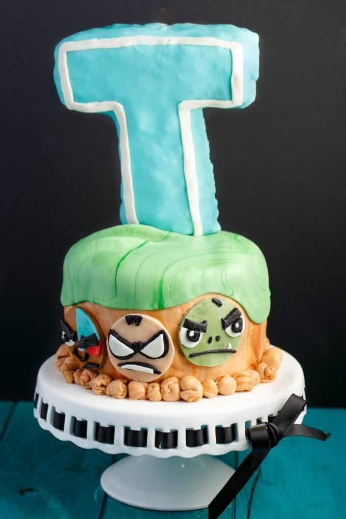 Phenomenal Teen Titans Go Cake Cookie Geek 4 The Cookie Writer Funny Birthday Cards Online Necthendildamsfinfo