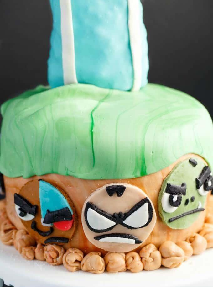 Teen Titans Go Cake (Cookie Geek #4)