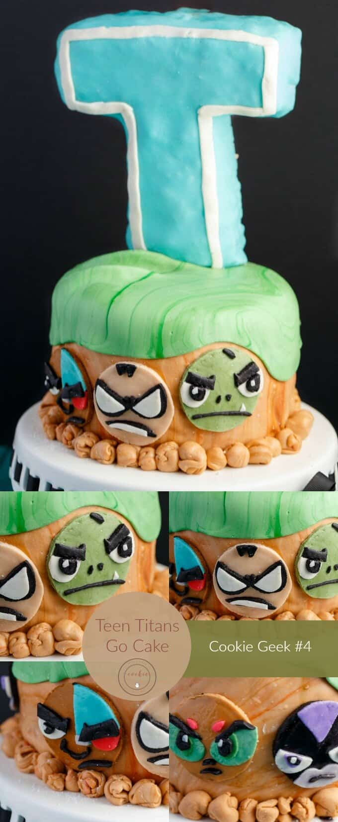 Teen Titans Go Cake Cookie Geek 4 The Cookie Writer