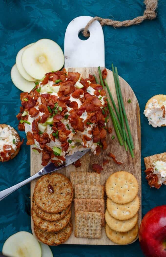 Bacon Apple Cheese Ball