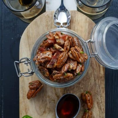 Bacon Jalapeno Pecans (Gluten-Free)