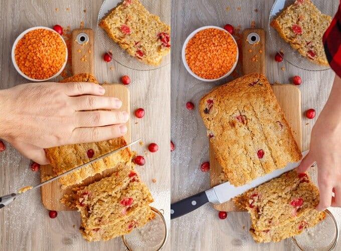 Cranberry Lentil Bread