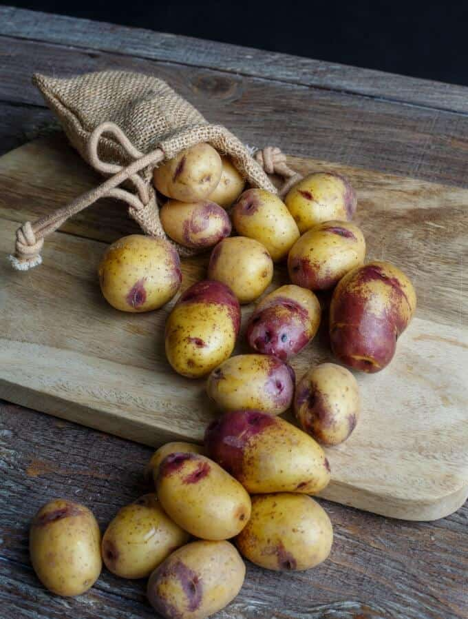 Sour Cream Lemon Potatoes and Carrots