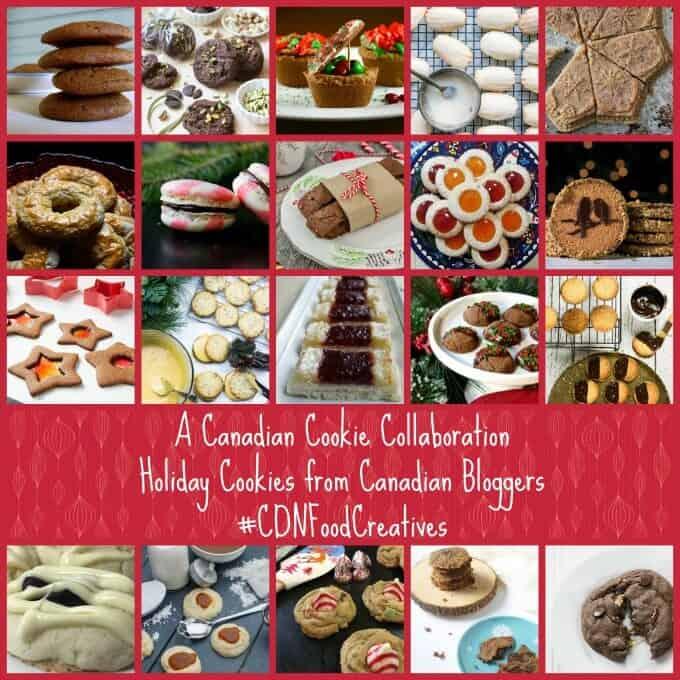 Thumbprint Caramel Shortbread Cookies