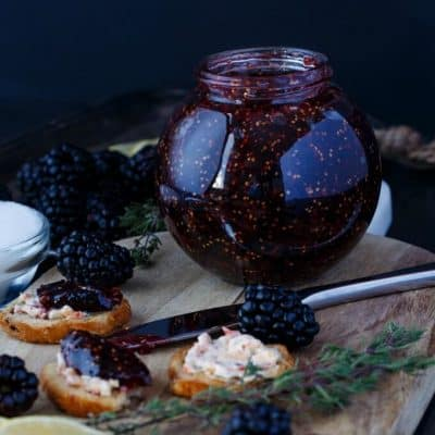 Blackberry-Fig Jam (Vegan & GF)