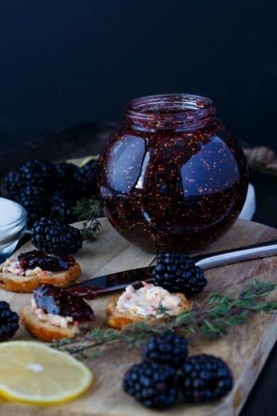 Blackberry-Fig Jam (Vegan & GF)