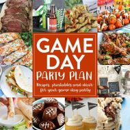 12 Game Day Recipes, Printables, and Decorations