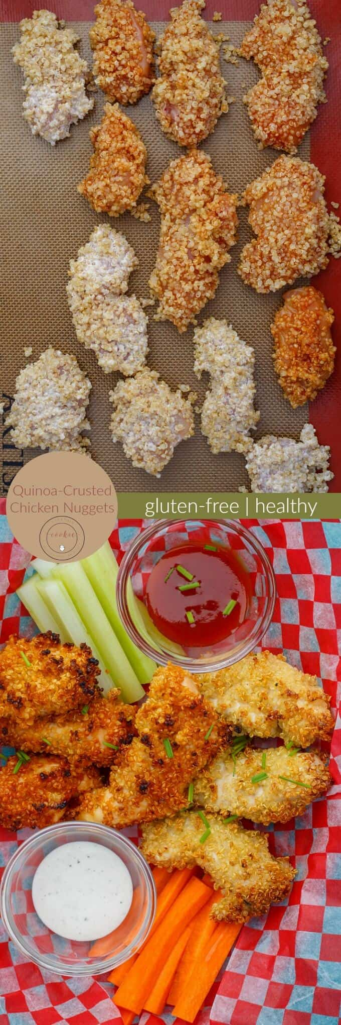 Quinoa-Crusted Chicken Nuggets