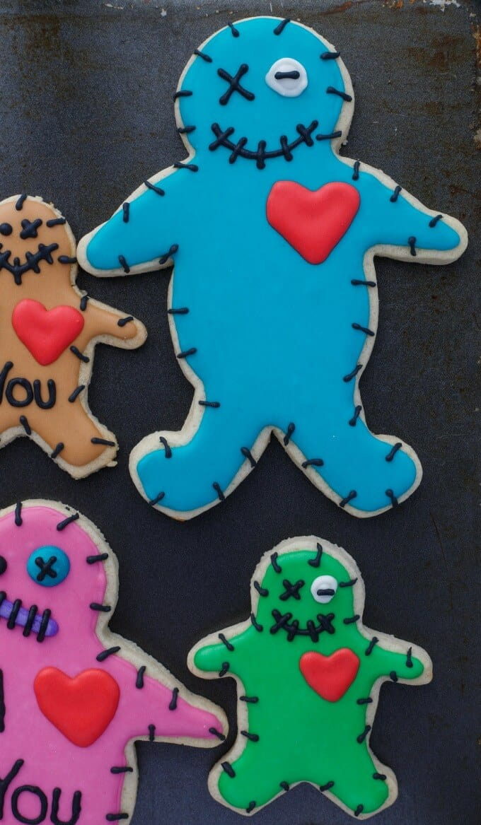 Royal Icing Voodoo Doll Cookies (Cookie Geek #5)