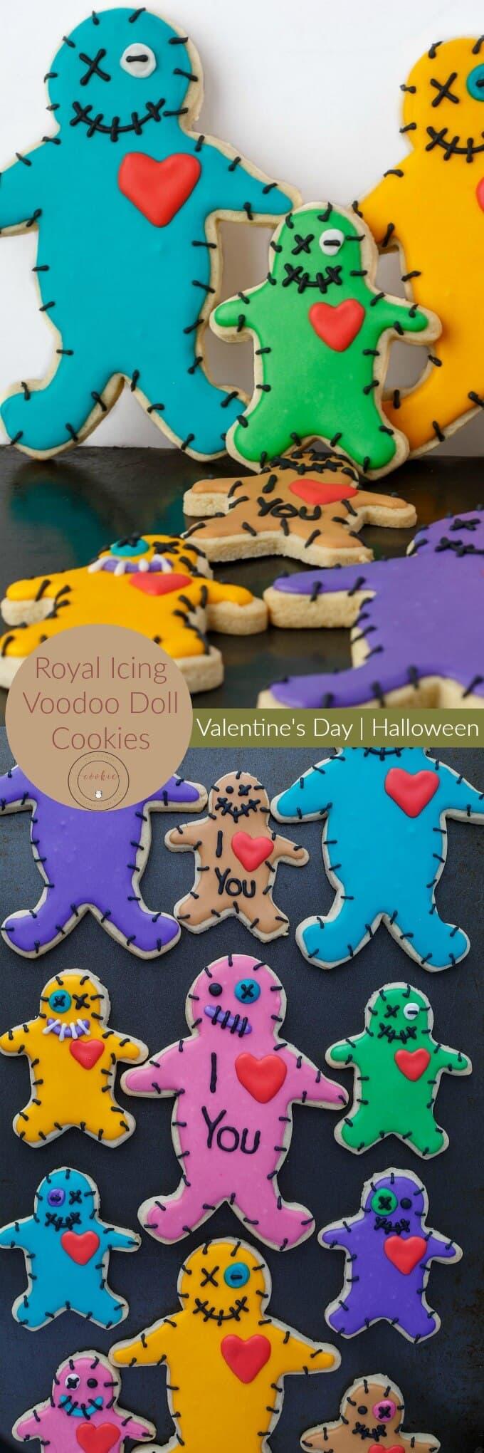Royal Icing Voodoo Doll Cookies (Cookie Geek #5)