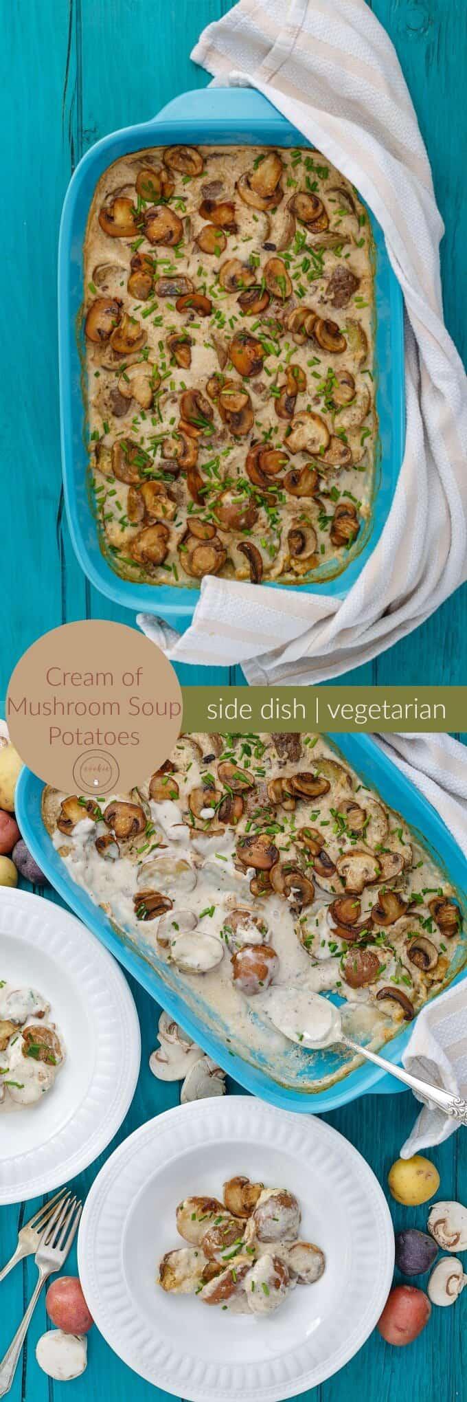 Cream of Mushroom Soup Potatoes