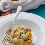Mashed Potato Chicken Pie