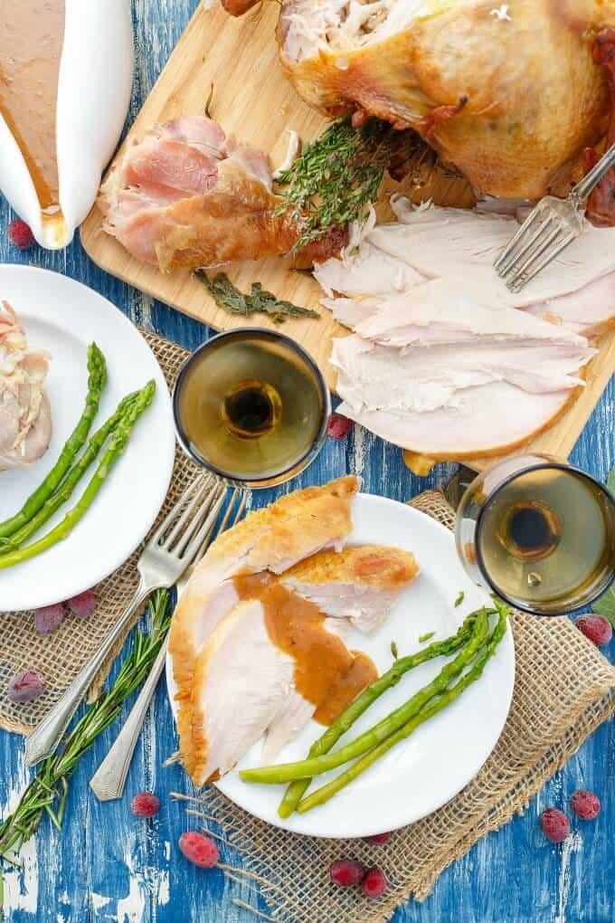 Smoked Turkey Recipe (How to Smoke a Turkey)
