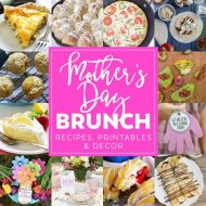 Mother's Day Brunch Meal Plan (Recipes & Printables)