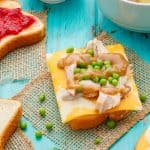 Open-Faced Turkey Sandwiches (Using Leftover Turkey)