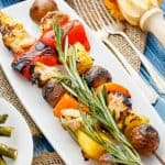 Orange Chicken Pineapple Potato Kabobs + Giveaway