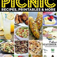Summer Picnic Recipes, Printables, & More