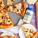 Chicken Bacon Ranch Pizza + Giveaway