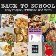 Easy Back-to-School Recipe Plan with Printables!