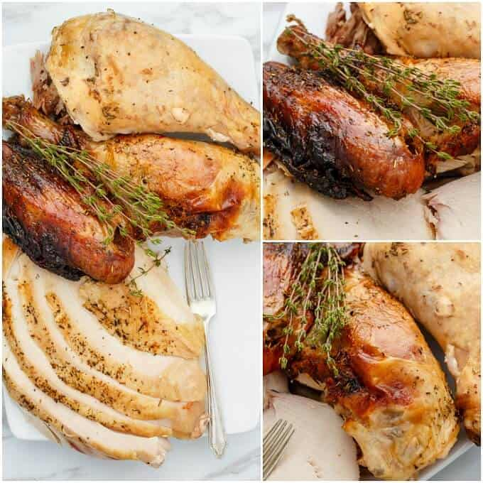 Grilled Herbes de Provence Turkey (Beer Can Turkey)