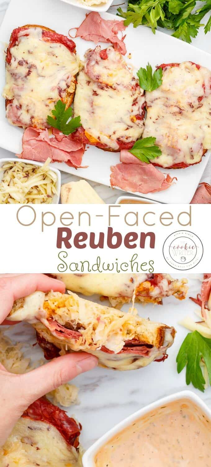 Open-Faced Reuben Sandwiches