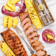 Pineapple Tamarind Grilled Pork Tenderloin