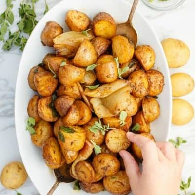 Easy Slow Cooker Breakfast Potatoes