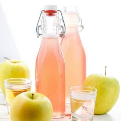 Homemade Apple-Infused Simple Syrup