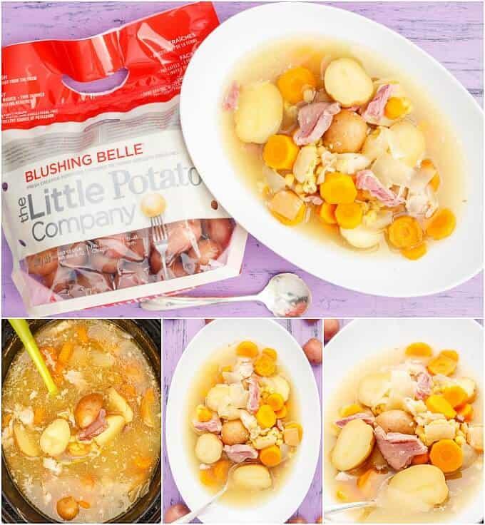 Slow Cooker Pea-Potato Soup