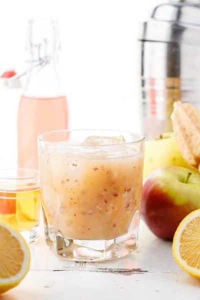 Fresh Apple Whiskey Sour