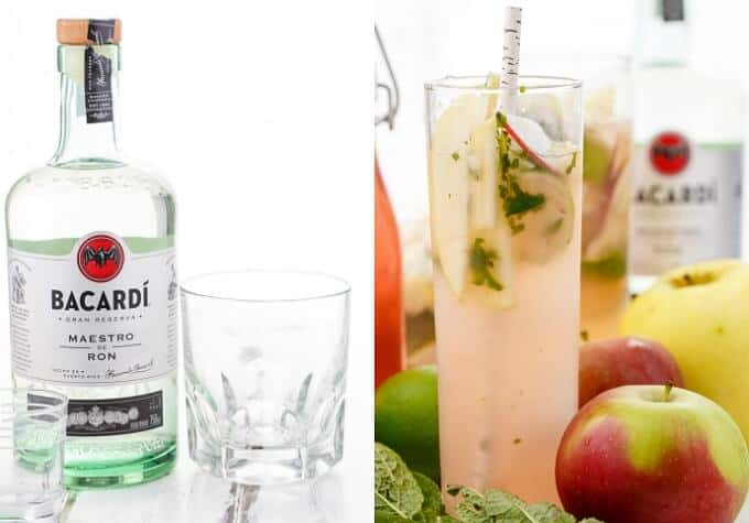 Apple Mojitos (Apple-Infused Simple Syrup)