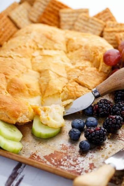 Canadian Cheese Stuffed Crescent Rolls