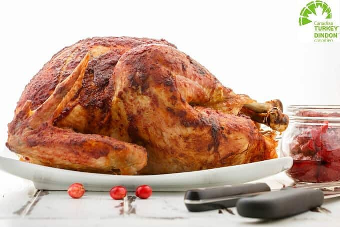 Roasted Cranberry Butter Turkey