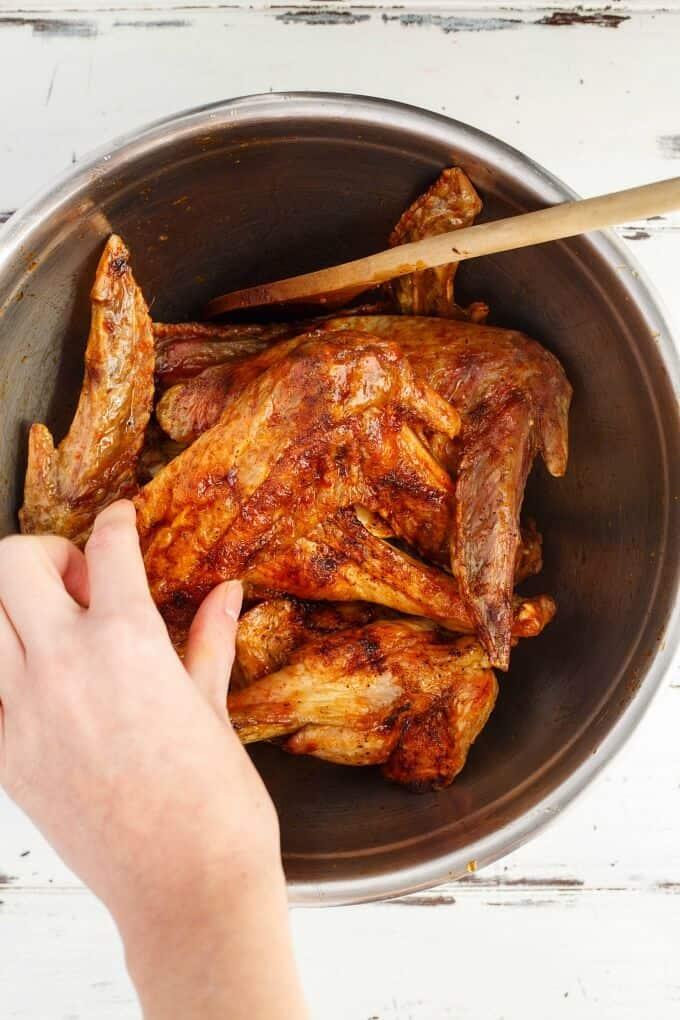 Zesty Maple Turkey Wings