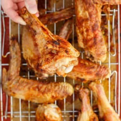 Zesty Maple Turkey Wings (GF)