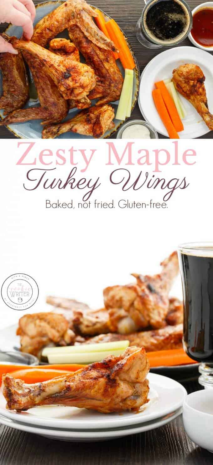Zesty Maple Turkey Wings