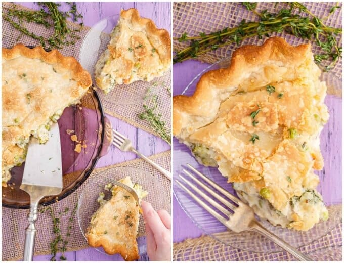 Hearty Vegetarian Pot Pie
