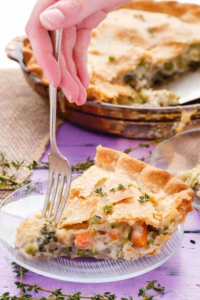 Hearty Vegetarian Pot Pie