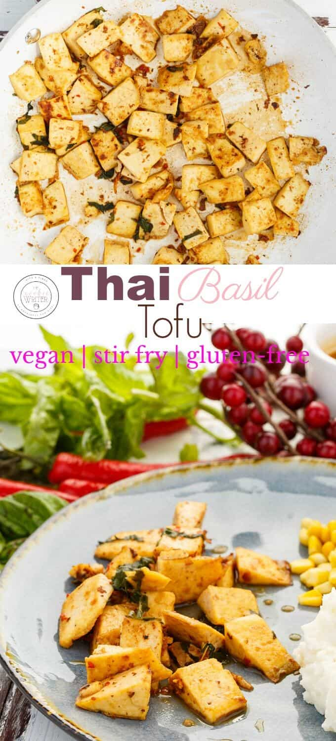 Inauthentic Thai Basil Tofu (Stir Fry Worthy!)