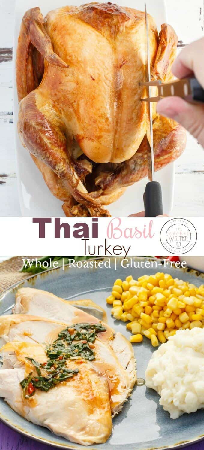 Inauthentic Thai Basil Turkey (Roasted)