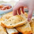 Homemade Pizza Pockets (Small & Freezable)