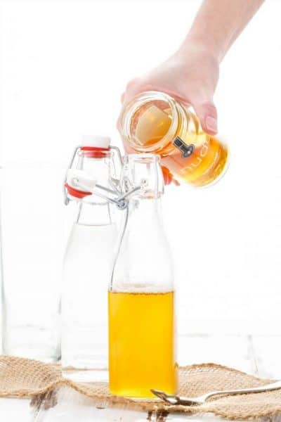 Homemade Honey Simple Syrup